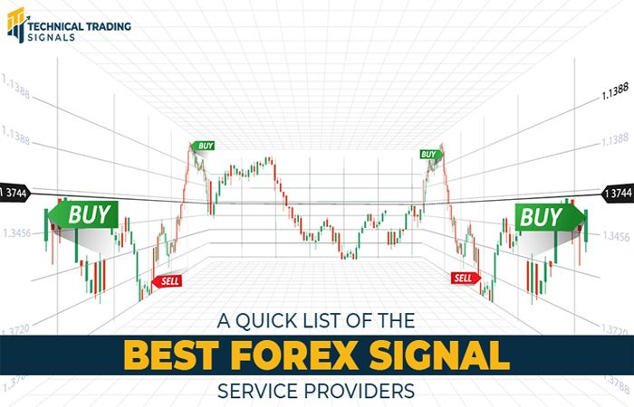 A Quick List of the Best Forex Signal Service Providers