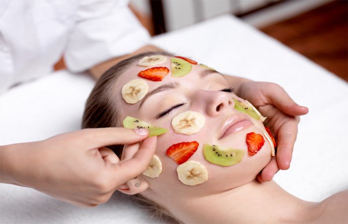 Take Care of Your Skin in summer by Home Made Fruit Facial