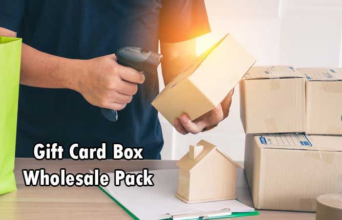 Gift Card Box Wholesale Pack