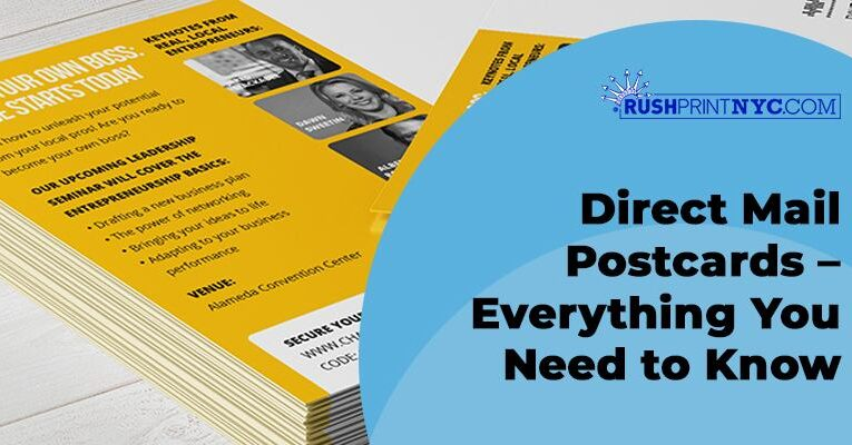 Direct Mail Postcards – Everything You Need to Know