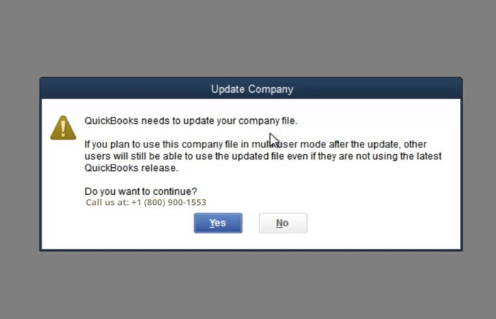 How to Upgrade your Company File in QuickBooks