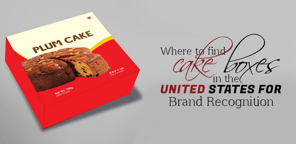 cake boxes in USA